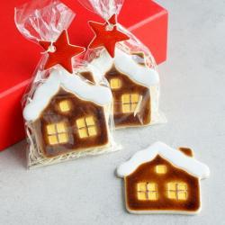 domek,magnes,święta,upominek - Ceramika i szkło - Wyposażenie wnętrz