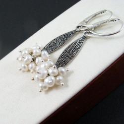 perły,klasyka - Kolczyki - Biżuteria