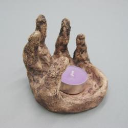 świecznik,wnetrze,ceramika,handmade,prezent - Ceramika i szkło - Wyposażenie wnętrz