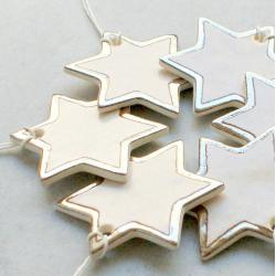 gwiazdki,zawieszki,złoto,choinka,święta - Ceramika i szkło - Wyposażenie wnętrz