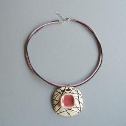 biżuteria,naszyjnik,handmade,elegancki - Naszyjniki - Biżuteria