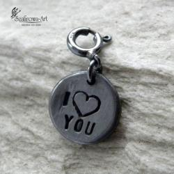 charms,miłość,srebro,prezent - Charms - Biżuteria