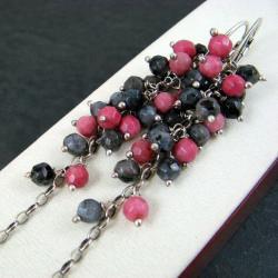długie,grona - Kolczyki - Biżuteria