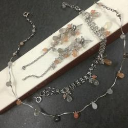 delikatny,pastelowy - Komplety - Biżuteria