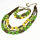 Komplety komplet na prezent,komplet biżuterii greenary