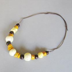 biżuteria,naszyjnik,handmade,ceramika,kobiecy - Naszyjniki - Biżuteria
