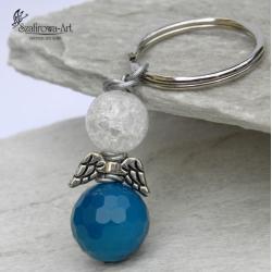 brelok,anioł,klucze,prezent,ciekawy - Breloki - Biżuteria