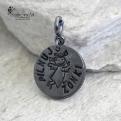 anioł,talizman,prezent,charms,brelok - Charms - Biżuteria