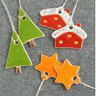 Ceramika i szkło gwiazdki,świąteczne,domki,choinka