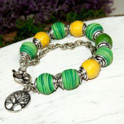 bransoletka,modowa,kolorowa,codzienna,prezent - Bransoletki - Biżuteria