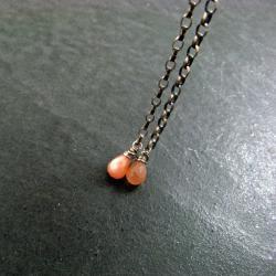 drobne,długie,krople - Kolczyki - Biżuteria