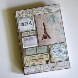 notes A5,wieża eiffla,podróże - Notesy - Akcesoria