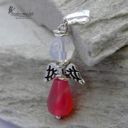 wisior,anioł,delikatny,prezent - Wisiory - Biżuteria