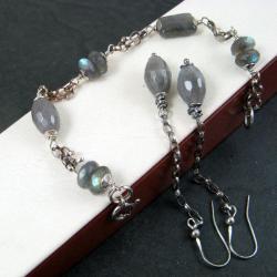 delikatny,efektowny - Komplety - Biżuteria