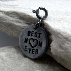 charms,mama,prerzent,miłość,srebro - Charms - Biżuteria