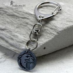 brelok,klucze,prezent,srebro,męski - Breloki - Biżuteria
