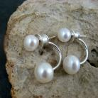 Kolczyki perłowe,efektowne