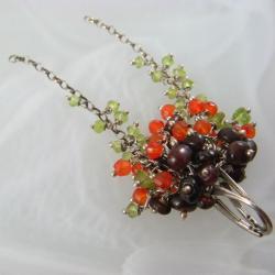 barwne,grona - Kolczyki - Biżuteria