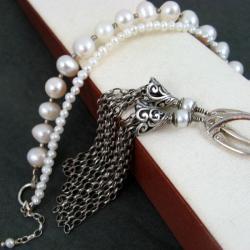 klasyczny,perłowy - Komplety - Biżuteria