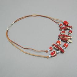 biżuteria,naszyjnik,handmade,unikatowy - Naszyjniki - Biżuteria