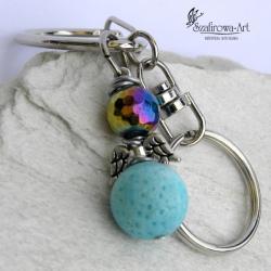 brelok,klucze,torebka,anioł,prezent - Breloki - Biżuteria