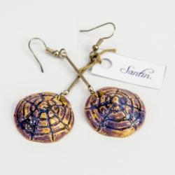 biżuteria,kolczyki,handmade,ceramika,morskie - Kolczyki - Biżuteria