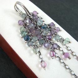 długie,grona,barwne - Kolczyki - Biżuteria