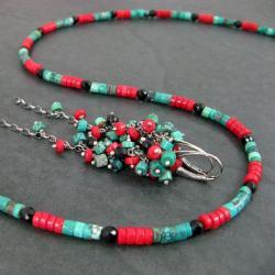 barwny,delikatny - Komplety - Biżuteria