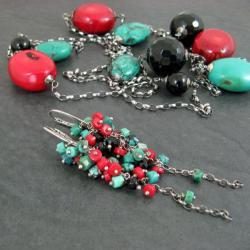 barwny,okazały - Komplety - Biżuteria