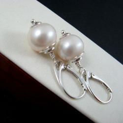 okazałe,perły - Kolczyki - Biżuteria