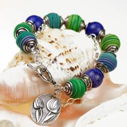 bransoletka boho,kolorowa,na co dzień - Bransoletki - Biżuteria