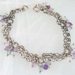 delikatna,lekka,pastelowa - Bransoletki - Biżuteria