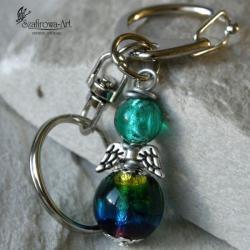 brelok,klucze,anioł,prezent - Breloki - Biżuteria