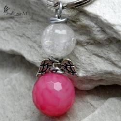 anioł,klucze,brelok,prezent - Breloki - Biżuteria