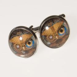 spinki do mankietów,oryginalne,artseko,dla niego - Charms - Biżuteria