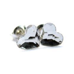 kolczyki z serduszkiem - Kolczyki - Biżuteria