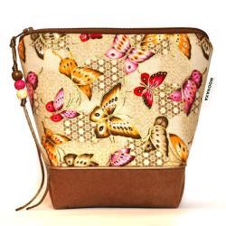 kosmetyczka,motyle,dla kobiety,na codzień,saszetka - Kosmetyczki - Dodatki