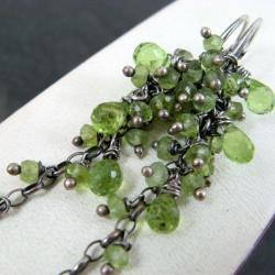 długie,lśniące - Kolczyki - Biżuteria