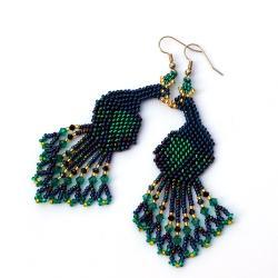 duże kolorowe kolczyki - Kolczyki - Biżuteria