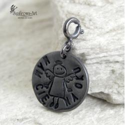 charms,anioł,talizman,prezent,wisior, - Charms - Biżuteria