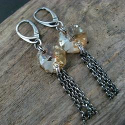lśniące,złote - Kolczyki - Biżuteria